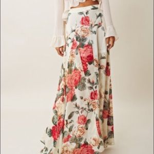 show me your mumu princess do ballgown maxi skirt